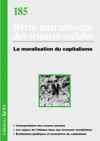La moralisation du capitalisme