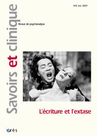 L'écriture et l'extase