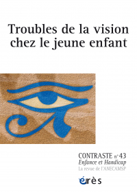 Troubles de la vision chez le jeune enfant