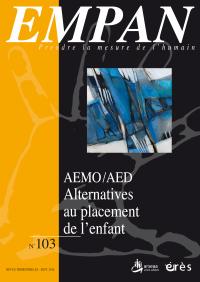 AEMO/AED : Alternatives au placement de l'enfant