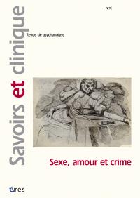 Sexe, amour et crime