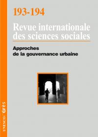 Approches de la gouvernance urbaine
