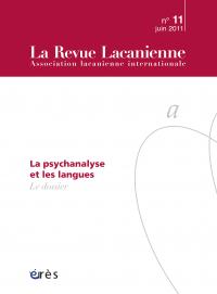 La psychanalyse et les langues