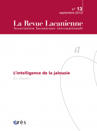 L'intelligence de la jalousie