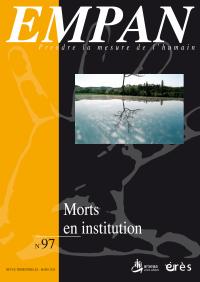 Morts en institution
