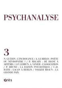 Incroyance et psychose