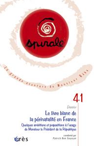 Le livre blanc de la périnatalité en France