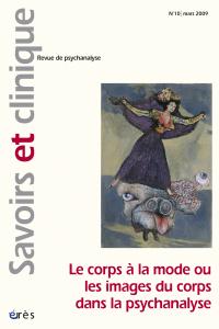 Le corps à la mode ou les images du corps dans la psychanalyse