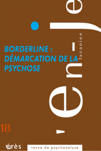 Borderline : démarcation de la psychose