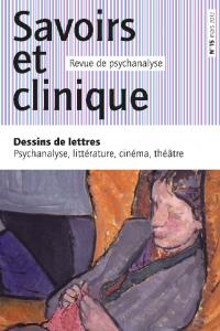 Dessins de lettres - Psychanalyse, littérature, théâtre, cinéma