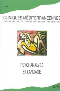 Psychanalyse et langage
