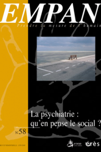 La psychiatrie : qu'en pense le social ?