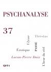 PSYCHANALYSE 37 : Intersexualité. Passe. Folie et démocratie