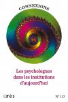 Les psychologues dans les institutions aujourd'hui