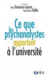 Ce que les psychanalystes apportent à l'université