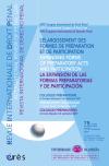 Elargissement des formes de préparation et de participation -L'-