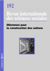 Dilemmes pour la construction de nations