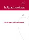 Psychanalyse et psychothérapie