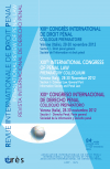 XIXe congrès international de droit pénal (Vérone, Italie, 28-30 novembre 2012)