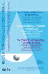 XIXe congrès international de droit pénal (Moscou, Russie - 24-27 avril 2014)