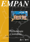 Psychothérapie et institutions