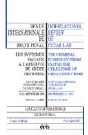 Les systèmes pénaux à l'épreuve du crime organisé. Section IV
