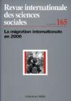 La migration internationale en 2000