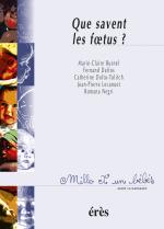 Que savent les foetus ? - 1001 bb n°4