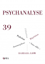PSYCHANALYSE 39 : Pulsion. Répétition. Wittgenstein. Barbara Low