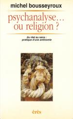 Psychanalyse ou religion ?