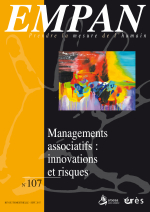 Managements associatifs : innovations et risques