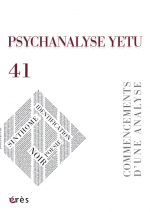 PSYCHANALYSE YETU 41 : Commencements d'une analyse. Identification