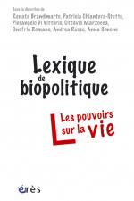 Lexique de biopolitique
