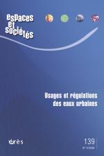 Usages et régulations des eaux urbaines