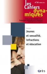 Jeunes et sexualité, infractions et éducation