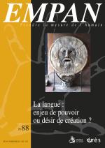 La langue : enjeu de pouvoir ou désir de création ?