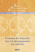 Evolution des dispositifs face à la désorganisation des collectifs