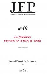Les féminismes. Questions sur la liberté et l'égalité