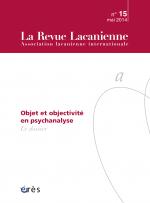 Objet et objectivité en psychanalyse