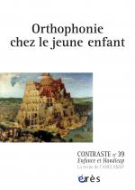 Orthophonie chez le jeune enfant