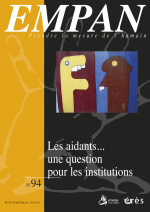 Les aidants… une question pour les institutions