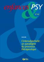 L'intersubjectivité : un paradigme du processus thérapeutique