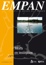 Morts en institution