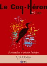 Psychanalyse et création littéraire