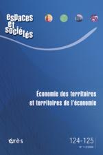 Economie des territoires et territoires de l'économie