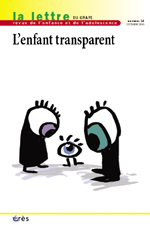 L'enfant transparent