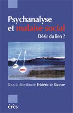 Psychanalyse et malaise social
