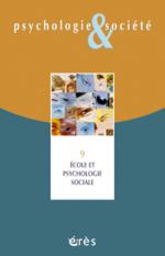 Ecole et psychologie sociale