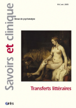 Transferts littéraires