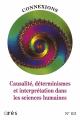 Causalité, déterminisme et interprétation dans les sciences humaines